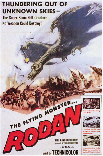 Rodan! The Flying Monster!